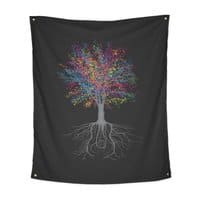 It Grows on Trees - indoor-wall-tapestry-vertical - small view