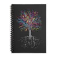 It Grows on Trees - spiral-notebook - small view