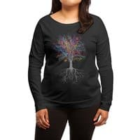 It Grows on Trees - womens-long-sleeve-terry-scoop - small view