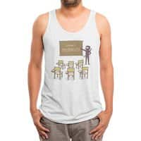 Ninja School - mens-triblend-tank - small view