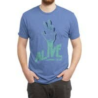 Alive or Die - mens-triblend-tee - small view