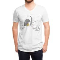 Take on Cheese - vneck - small view