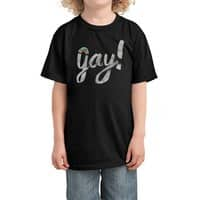 Yay Gay - kids-tee - small view