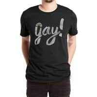Yay Gay - mens-extra-soft-tee - small view