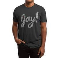 Yay Gay - mens-triblend-tee - small view