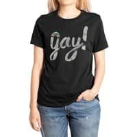 Yay Gay - womens-extra-soft-tee - small view