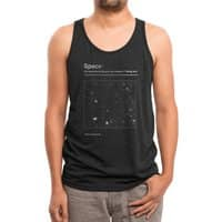 Never Ending - mens-triblend-tank - small view