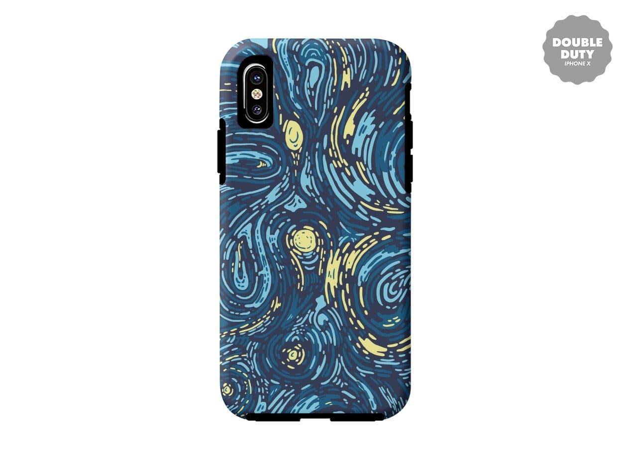 Cool Starry Night Vincent Van Gogh Painting Iphone X Case
