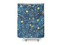 Starry Pattern - shower-curtain - small view