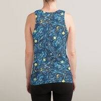 Starry Pattern - sublimated-tank - small view