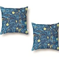 Starry Pattern - throw-pillow - small view