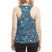 Starry Pattern - womens-sublimated-racerback-tank - small view