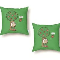 Gravity is a Lie - throw-pillow - small view