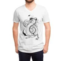Bruce, the Dragon - vneck - small view