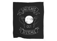 Snitches Get Stitches - blanket - small view