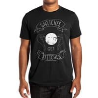 Snitches Get Stitches - mens-extra-soft-tee - small view