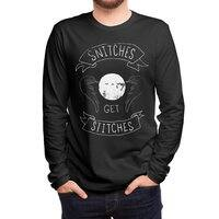 Snitches Get Stitches - mens-long-sleeve-tee - small view