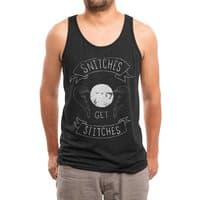 Snitches Get Stitches - mens-triblend-tank - small view