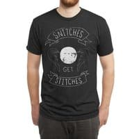 Snitches Get Stitches - mens-triblend-tee - small view
