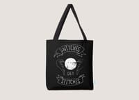 Snitches Get Stitches - tote-bag - small view