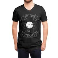 Snitches Get Stitches - vneck - small view