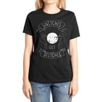 Snitches Get Stitches - womens-extra-soft-tee - small view