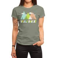 Wander - womens-regular-tee - small view