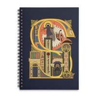 Legend of the Fall - spiral-notebook - small view
