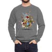 It's Dangerous to Go Alone! Take This - crew-sweatshirt - small view