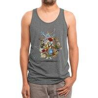 It's Dangerous to Go Alone! Take This - mens-triblend-tank - small view
