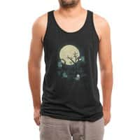 Dinner is a Cheese Affair - mens-triblend-tank - small view
