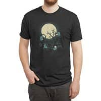 Dinner is a Cheese Affair - mens-triblend-tee - small view
