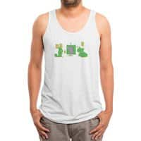 Uncovering the Problem - mens-triblend-tank - small view