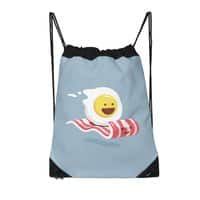 Magic Bacon Ride - drawstring-bag - small view