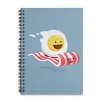 Magic Bacon Ride - spiral-notebook - small view