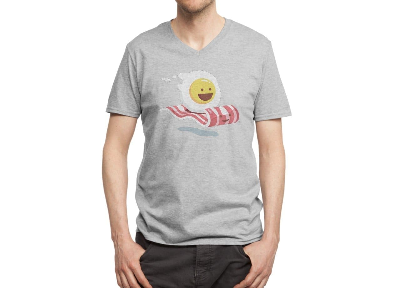 Magic Bacon Ride By George Otsubo Mens Extra Soft Tee Threadless Acrylick Online Men39s Short Circuit Tshirt 2 6