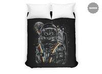 Space Mission - duvet-cover - small view