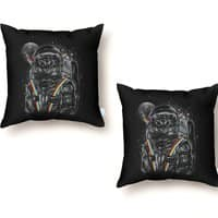 Space Mission - throw-pillow - small view
