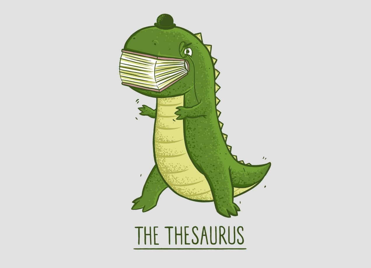 The Thesaurus By Darel Seow Threadless