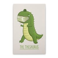 The Thesaurus - vertical-stretched-canvas - small view