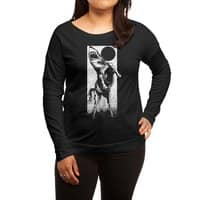 The Great White Stallion - womens-long-sleeve-terry-scoop - small view