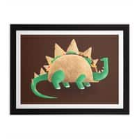 Tacosaurus - black-horizontal-framed-print - small view