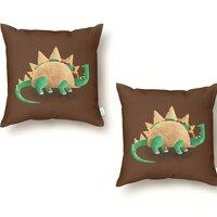 Tacosaurus - throw-pillow - small view
