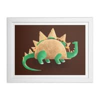Tacosaurus - white-horizontal-framed-print - small view