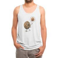 Zombie Walnut - mens-triblend-tank - small view