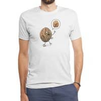 Zombie Walnut - mens-triblend-tee - small view