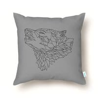 A Wolf's Tale - throw-pillow - small view