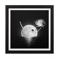 HELP! - black-square-framed-print - small view