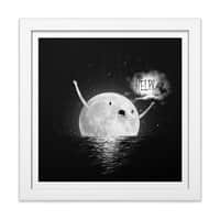 HELP! - white-square-framed-print - small view