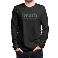 Death, our nation's number one killer - mens-long-sleeve-tee - small view